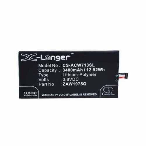 Battery For ACER Iconia Tab 7