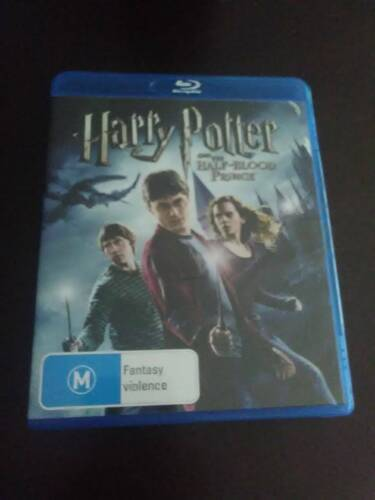 HARRY POTTER AND THE HALF BLOOD PRINCE BLU-RAY