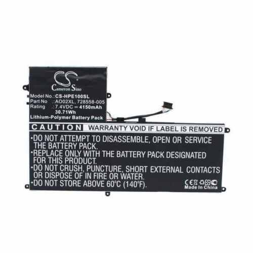 Battery For HP ElitePad 1000 G2