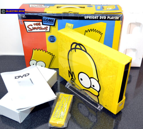 RARE Simpsons DVD Player - As New Unused/Boxed Tested PAL AUS