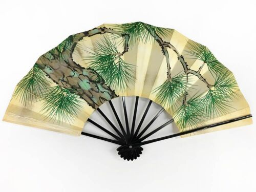 Vintage Japanese Geisha Odori 'Maiogi' Folding Dance Fan from Kyoto: MayIIK