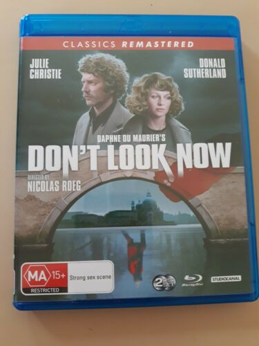 Don't Look Now NEW 2 x BluRay Free Shipping.