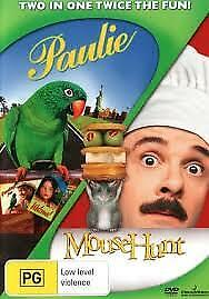PAULIE + MOUSEHUNT DVD (2 Disc Set, Pal) NEW AND SEALED