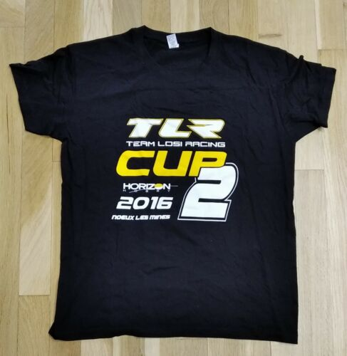 NEUF T-Shirt TEAM LOSI RACING - NOEUX LES MINES 2016  Couleur Noir - Taille S