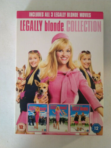 Legally Blonde Collection dvd UK release