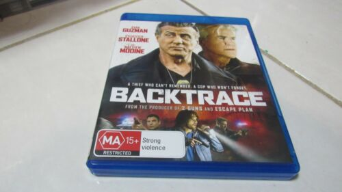 Backtrace -2019 Blu Ray - Sylvester Stallone - FREE Registered Postage Included