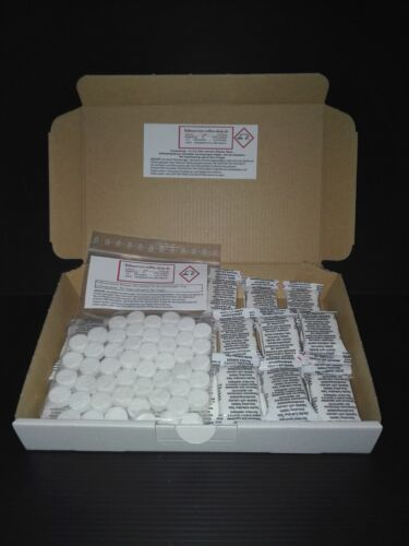 100 Cleaning + 30 Descaling Tablets Tabletas para Jura WMF Coffeemachines