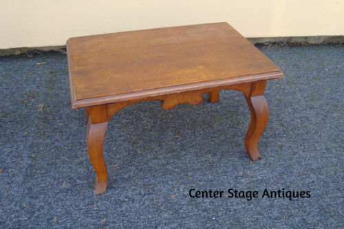 36004 Antique Victorian Footstool Bench Stool