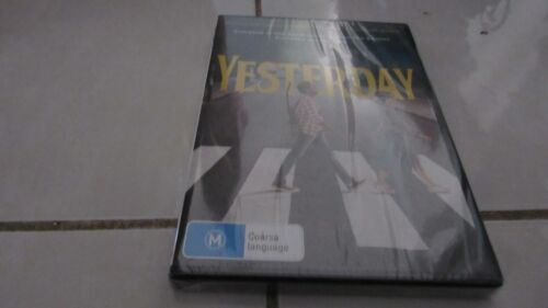 Yesterday 2019 - Brand NEW & Sealed DVD - FREE Registered Postage Included