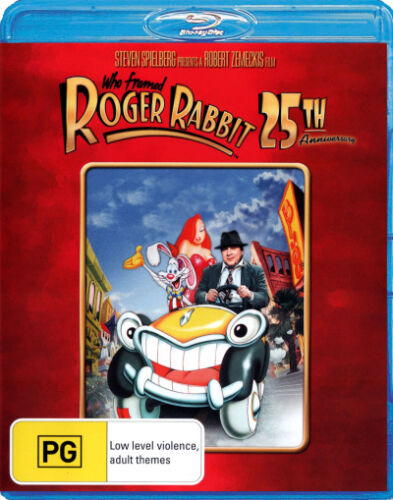 Who Framed Roger Rabbit? (25th Anniversary) * Blu-ray Disc * NEW