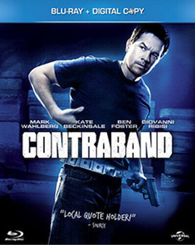 CONTRABAND BLU-RAY [UK] NEW BLURAY