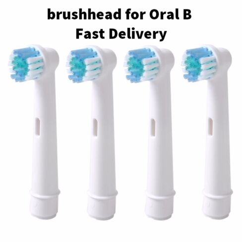 electric toothbrush heads Universal toothbrush replacement heads for Oral-B 4pcs