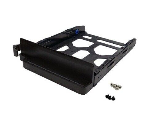 """Qnap TRAY-35-NK-BLK04 Black Hdd Tray For 3.5"""" And 2.5"""" Drives Without Key Loc..."""