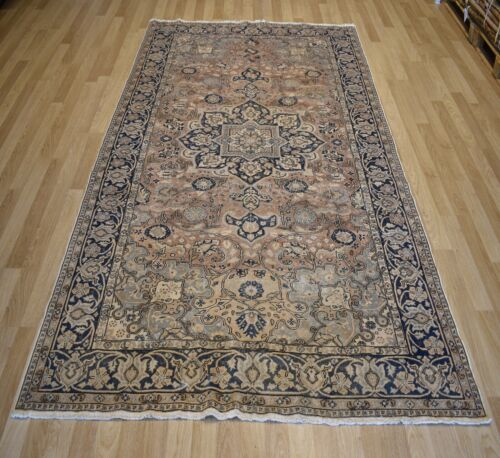 """1920""""s Pastel Distressed Handmade Fine Turkish Rug 7Ft X 10Ft  Free Shipping"""