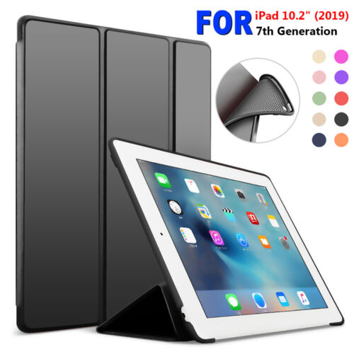 """Magnetic Tablet Shell Flip Stand Smart Case Cover For iPad 7th Gen 10.2"""" 2019"""