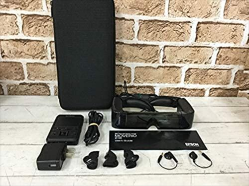 Used EPSON MOVERIO See-through mobile viewer BT-100 3D compatible from JAPAN F/S