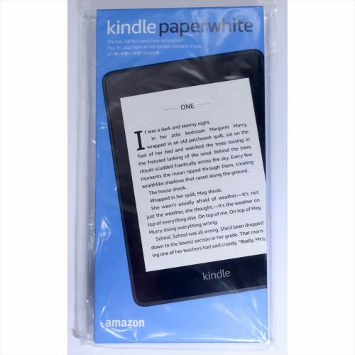Amazon Kindle Paperwhite Wi-Fi 10th Generation Black 32GB 300ppi from JAPAN