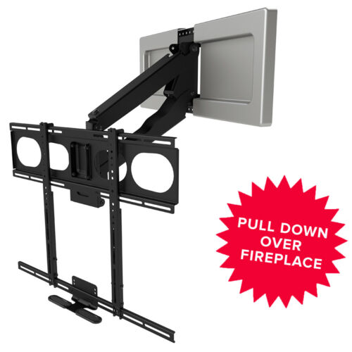 Mantelmount Mm540 Pull Down Fireplace Tv Mount For 44