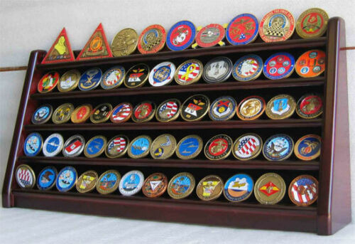 5 Row Display Stand for Challenge Coins, Masonic Coins, an Medals COIN5-MAOther Militaria - 135