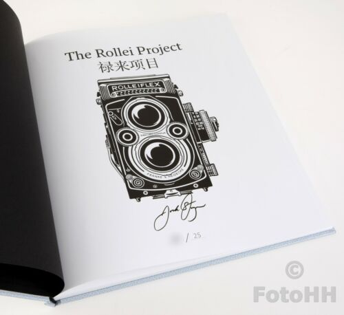 """THE ROLLEI PROJECT BY JOCK STURGES SPECIAL EDITION """"2"""" / WITH SIGNED PRINT INCL."""
