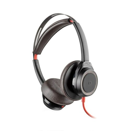 Plantronics Blackwire 7225 Noise Cancelling USB Stereo Headset - Black 211144-01