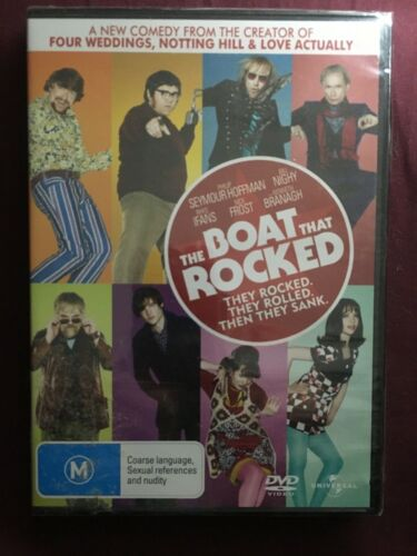 The Boat That Rocked. Factory Sealed DVD.