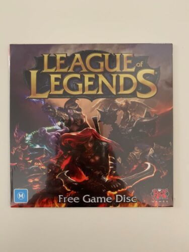 RIOT LEAGUE OF LEGENDS CDROM CD ROM PC GAME DISC *NEW FACTORY SEALED*