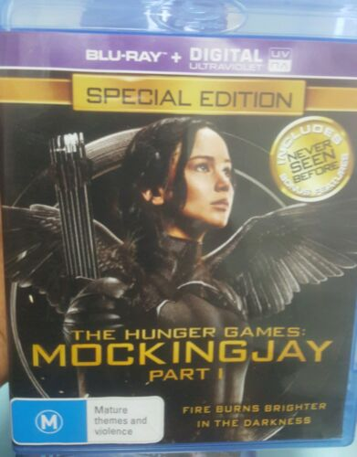 The Hunger Games: Mockingjay Part 1 - Special Edition Blu Ray
