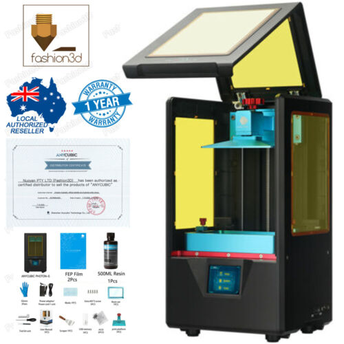 AU Stock & Service Anycubic Photon S Resin DLP/LCD/SLA 3D printer Photons