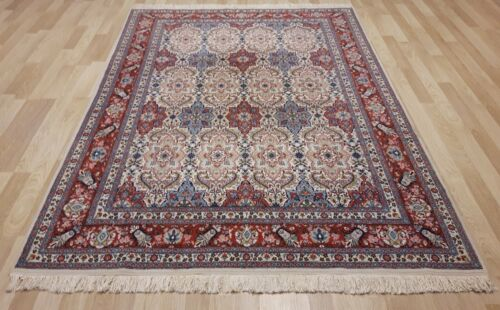 1950's ORIGINAL Highly Collectible TURKISH HEREKE Rug 7 Ft x10 Ft Museum Quality