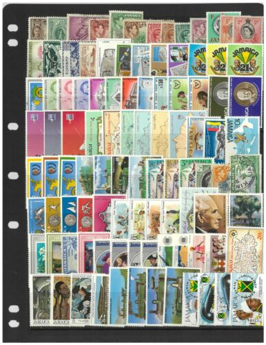 Jamaica 100 Different Stamps Mint & Used Mixed in Glassine Envelope
