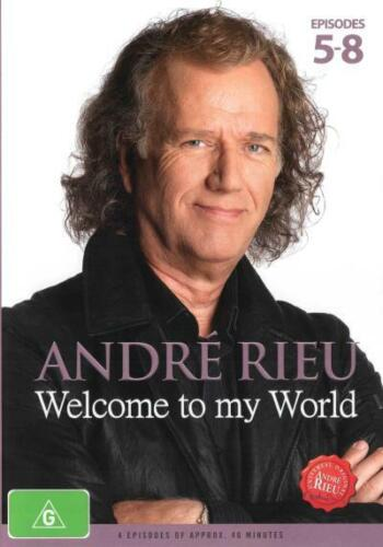 Andre Rieu: Welcome to my World (Episodes 5-8)  - DVD - NEW Region 4