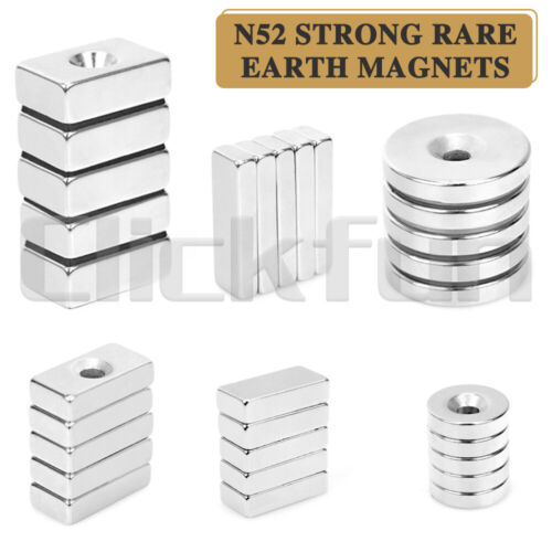 Super Strong Magnets Cylinder Cuboid Rare Earth Cuboid Neodymium Magnet
