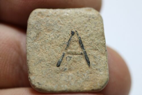 ZURQIEH - AS17668- ANCIENT HELLENISTIC / EARLY ROMAN LEAD WEIGHT. 4TH B.C-2ND A.