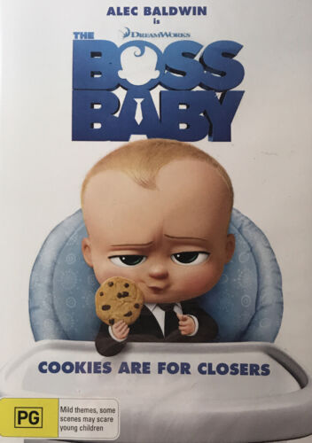 The Boss Baby- DVD Region 4 (New and Sealed) DreamWorks