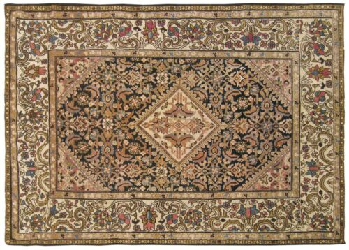 Antique Traditional Decorative Oriental Rug, in Small Size, with FREE SHIPPING!