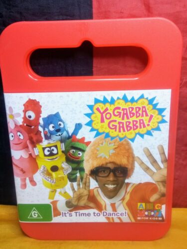 Yo Gabba Gabba! - It's Time to Dance (DVD, R4, 2008)