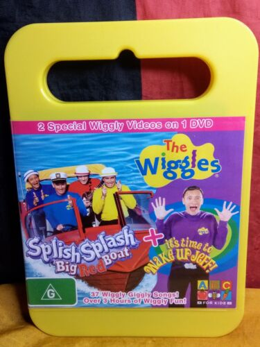The Wiggles - Splish Splash Big Red Boat / It's Time To Wake Up Jeff (DVD, 2006)