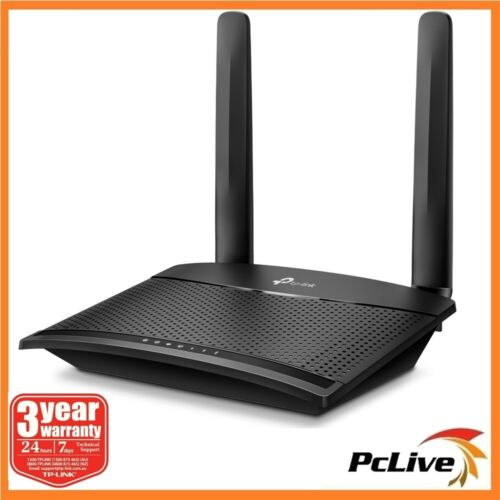 TP-Link TL-MR100 300 Mbps Wireless N 4G LTE Router Detachable Antenna SIM WIFI
