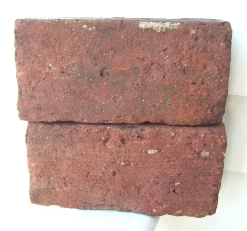 Antique Reclaimed Red Clay Brick NEW HAMPSHIRE New England Old Train Depot A