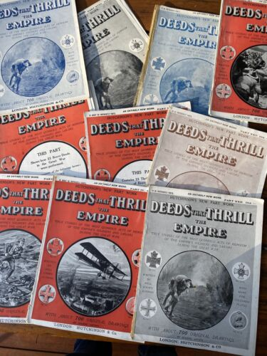 10 Old Copies Of Deeds That Thrill The Empire Magazine WWI