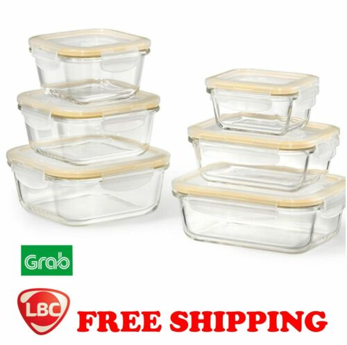 Glass food storage locknlock lock & lock  NOT pyrex corelle kitchenaid