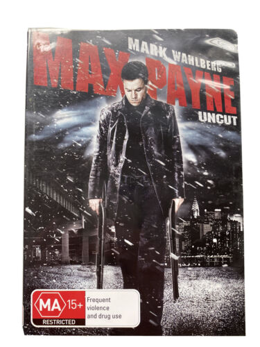 Max Payne (DVD, 2009) Mark Wahlberg FREE POST Region 4