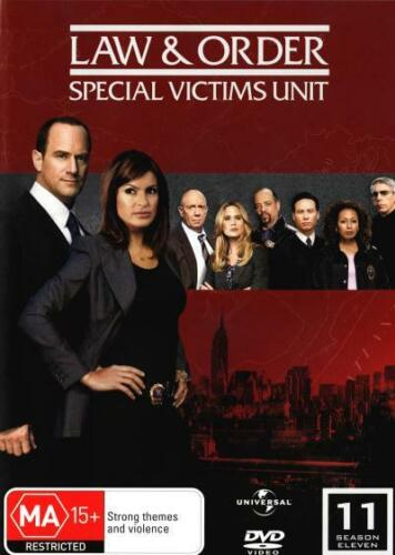 LAW & ORDER: SPECIAL VICTIMS UNIT - SEASON 11 (2009) [NEW DVD]