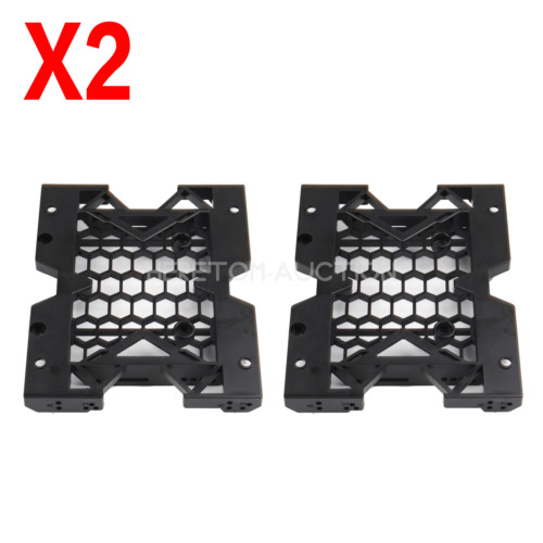 """2X Premium 5.25"""" to 3.5"""" 2.5"""" SSD Hard Drive Tray Bracket Mounting HDD Adapter"""