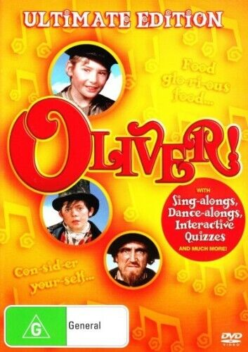 OLIVER! (ULTIMATE EDITION) (1968) [NEW DVD]