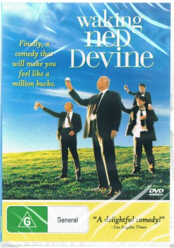 Waking Ned Devine DVD Brand New and Sealed Australia