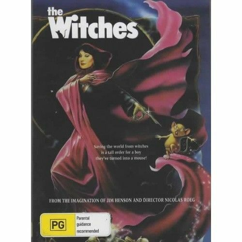 The Witches DVD Angelica Huston Brand New and Sealed Australia