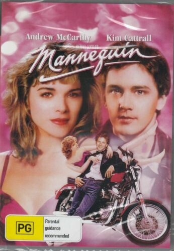 Mannequin DVD Andrew McCarthy, Kim Cattrall New and Sealed Australia