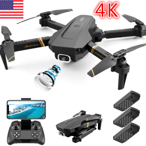 2020 NEW Rc Drone 4k HD Wide Angle Camera WiFi fpv Drone Dual Camera Quadcopter <br/> 🔥Christmas gift🔥3 Battery🔥backpack🔥1 Days Shipping
